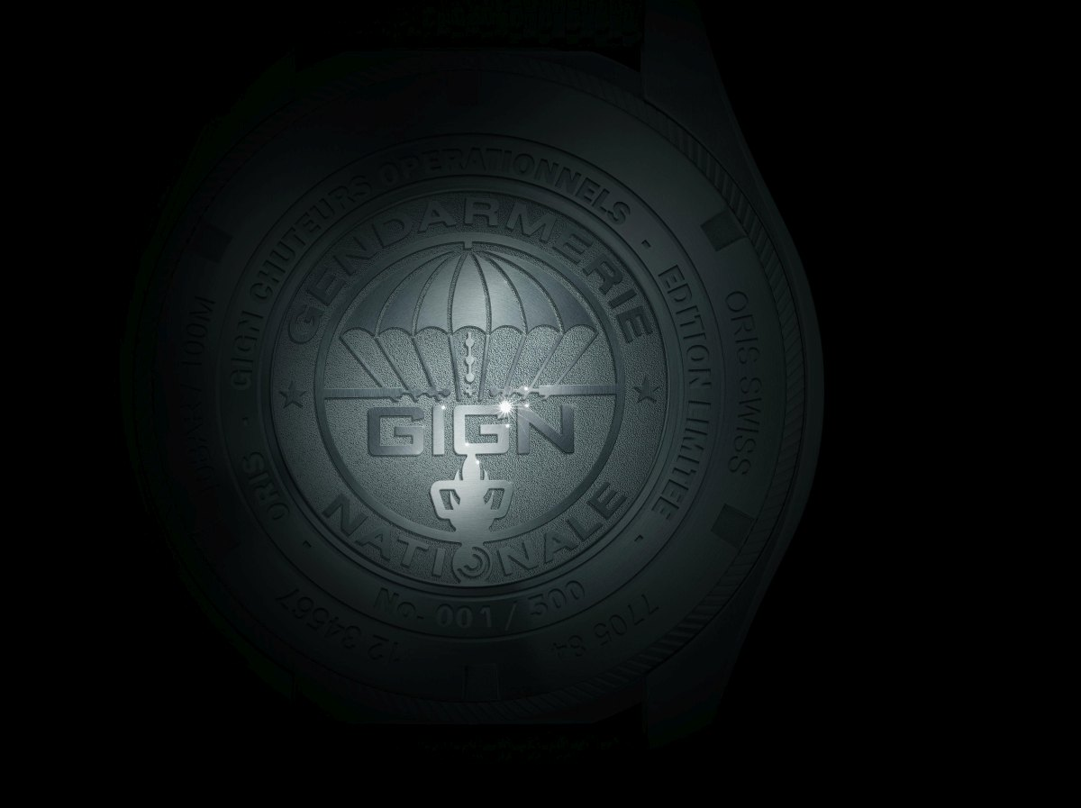 01 733 7705 4184-Set 5 23 14FC - Oris GIGN Limited Edition