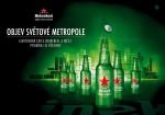 Praha získá svou láhev Heineken