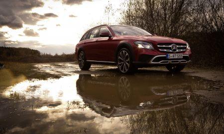 Mercedes-Benz E-Klasse All-Terrain; Outdoor; Exterieur: designo hyazinthrot metallic ;  Mercedes-Benz E-Class All-Terrain; outdoor; exterior: designo hyacinth red metallic;