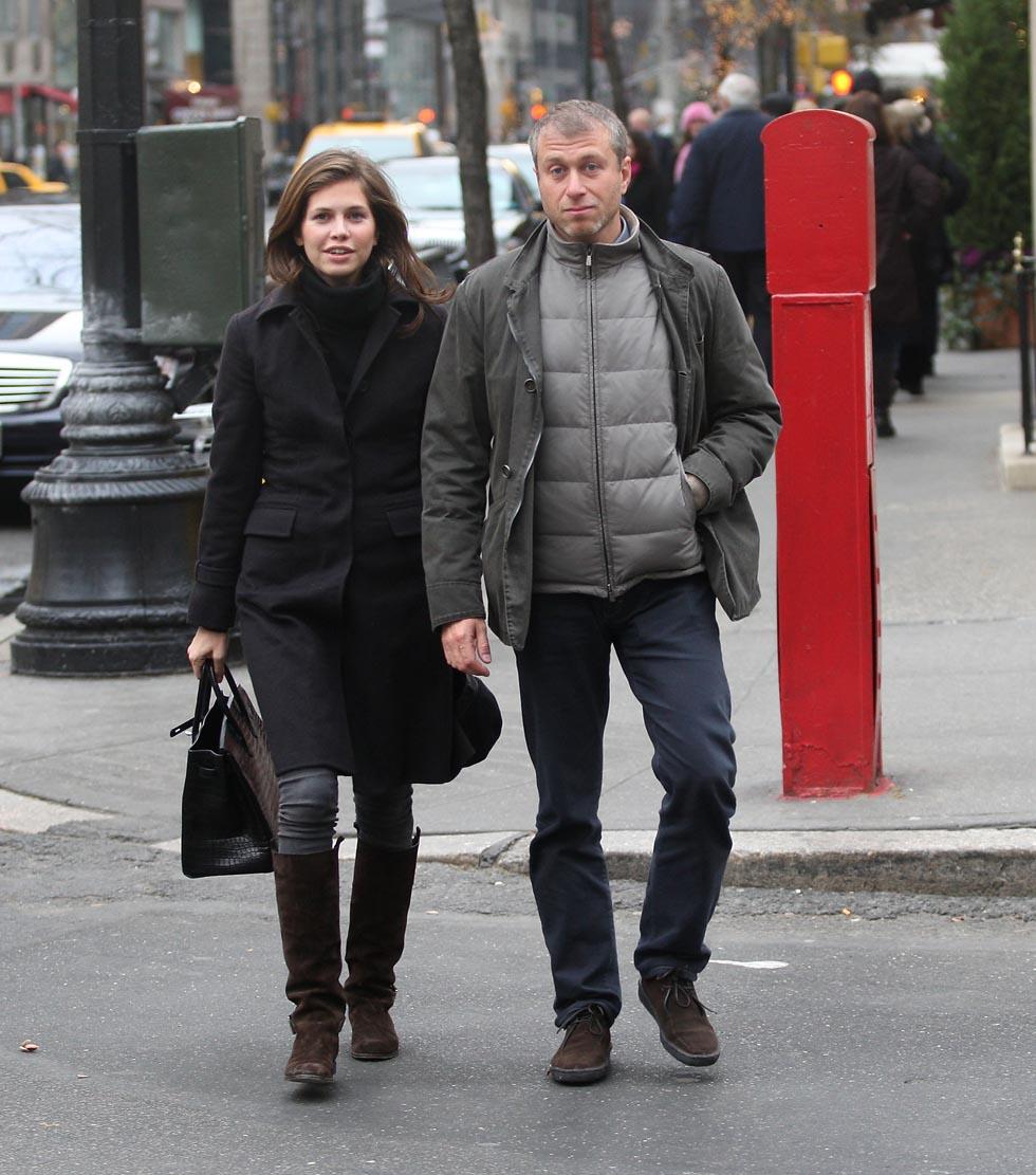 Roman Abramovič s přítelkyní Darjou Žukovovou