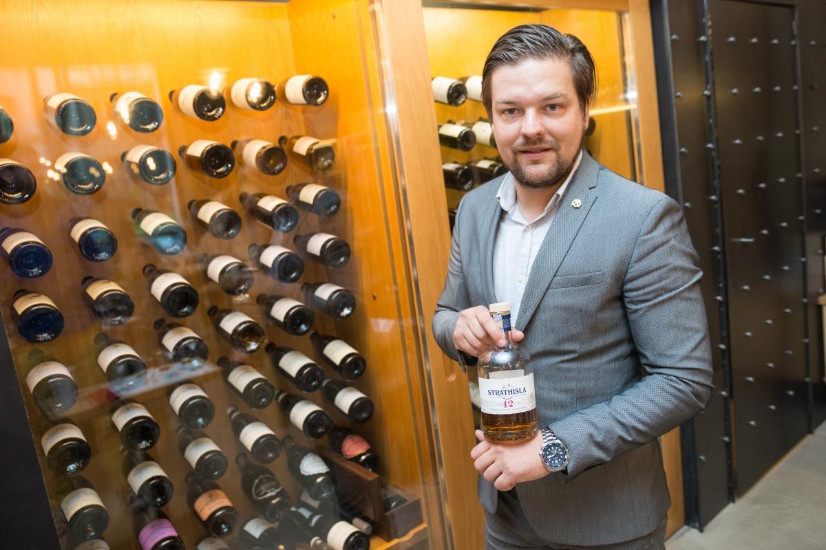 Zdeněk Kortiš je nejenonom jedním z největších odborníků na prémiové destiláty u nás, ale také ambasadorem hodinek značky Seiko