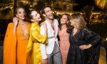 Jasmine SANDERS. Bella HADID. Jon KORTAJARENA. Alicia VIKANDER. Isabella FERRARI.. Bulgari Resort Dubai Opening. U.A.E. 12/2017 © david atlan