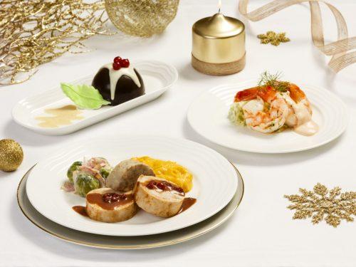 Emirates ve svátečním období nabízí vánoční menu