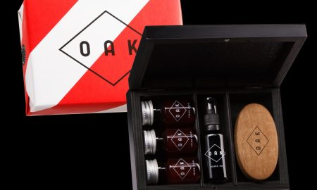 OAK Beard Box - Beard Hold 50ml, Beard Wash 30ml, Beard Brush a Beard Oil 30ml cena 2.499 Kč