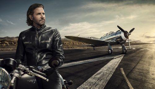 Bradley Cooper na svobodné vlně IWC Schaffhausen