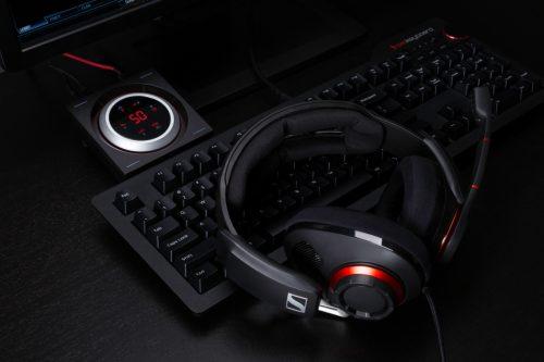 Herní headset Sennheiser GSP 500 přináší špičkový zvuk i pohodlí