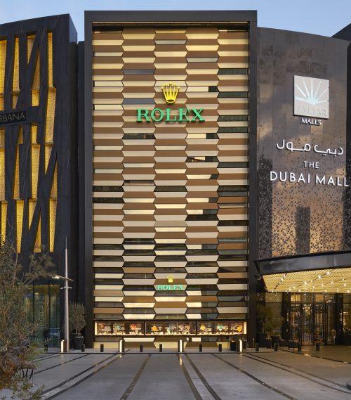 Rolex mají v Dubai Mall největší obchod
