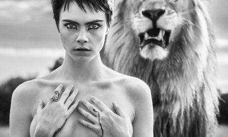 TAG Heuer Cara Delevingne lion campaign 2018 (002)