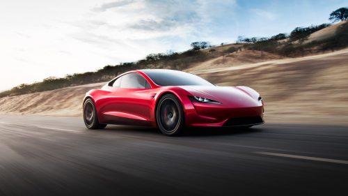 Elon Musk vyvinul raketový Tesla Roadster