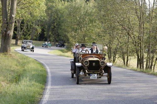 Jubilejní desátý ročník Veteran Rallye Kutná Hora