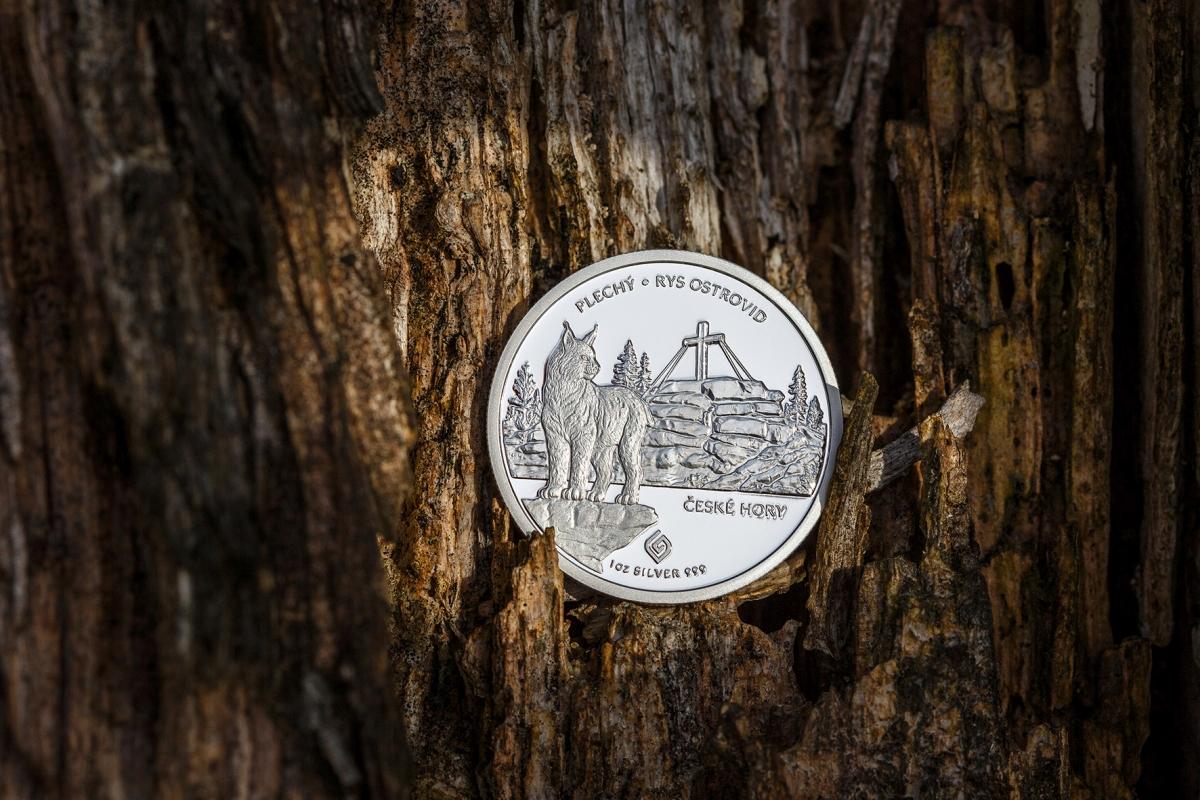 Nová stříbrná mince podpoří vzácné šelmy
