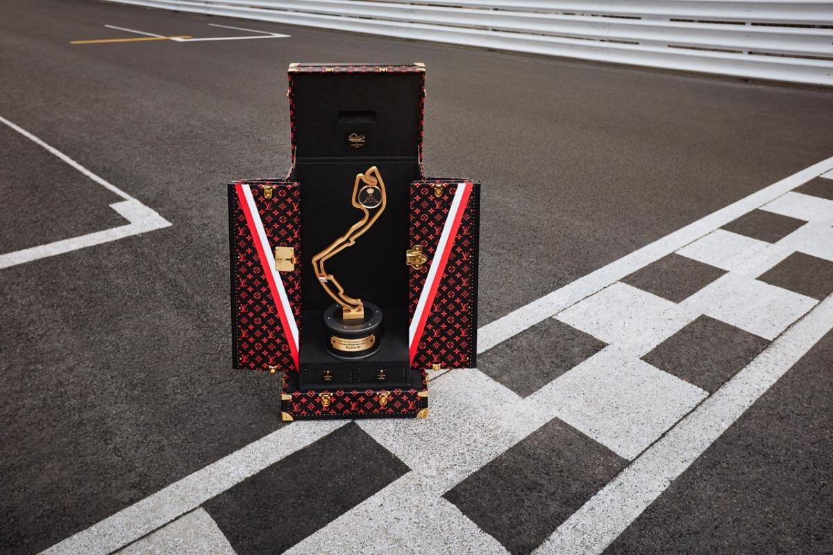 Louis Vuitton dodavatel pouzdra na trofej pro vítěze Velké ceny Monaka Formule 1