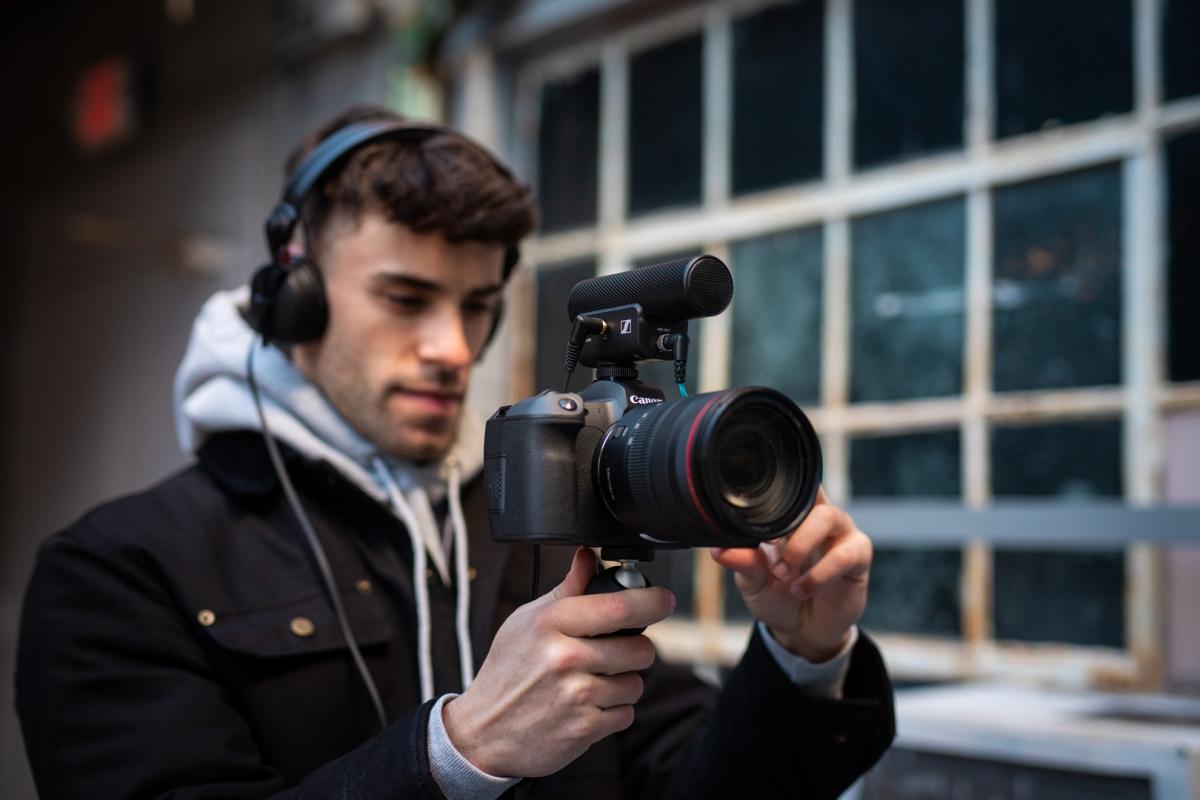 Sennheiser zahájil prodej špičkových mikrofonů pro nezávislé tvůrce
