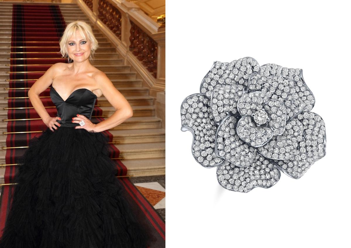 Bára Nesvadbová zářila na charitativní večeři ve špercích ALO diamonds