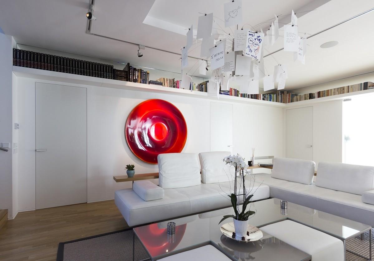 Nádherný interiér realizovaný ve spolupráci s ateliérem ADR