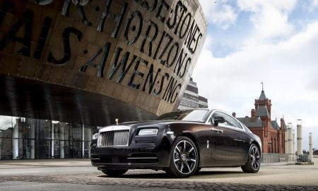Rolls-Royce Wraith Inspired by British Music  Photo: James Lipman / jameslipman.com