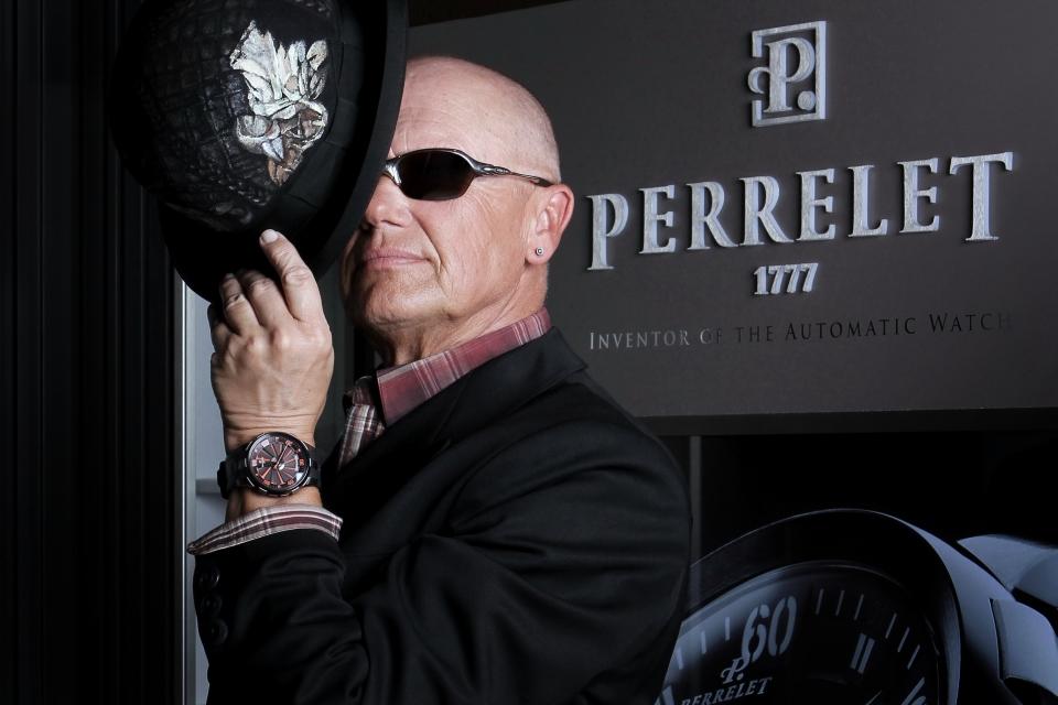 Ambasador Perrelet Jiří Korn a hodinky Turbine XL_foto Hermina