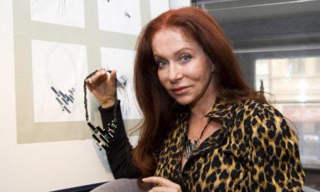 Blanka Matragi a model Klávesy.