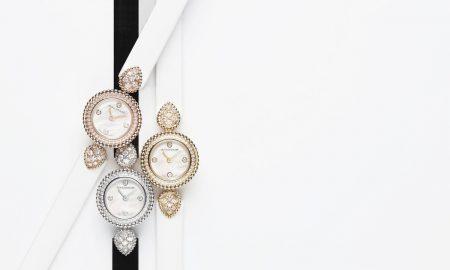Serpent Bohème jewelry watch ve žlutém zlatě 387 000Kč, v růžovém 387 000 Kč a v bílém 439 500 Kč