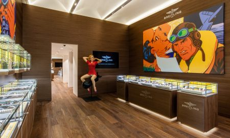 Breitling boutique interior