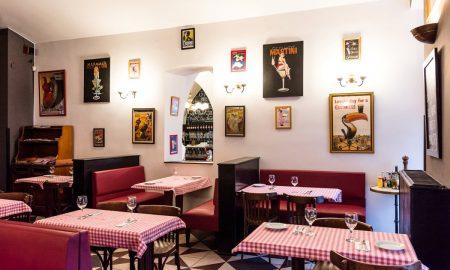 Chez Marcel interier