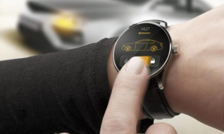 Chytré hodinky  inteligentní klíč k vozu