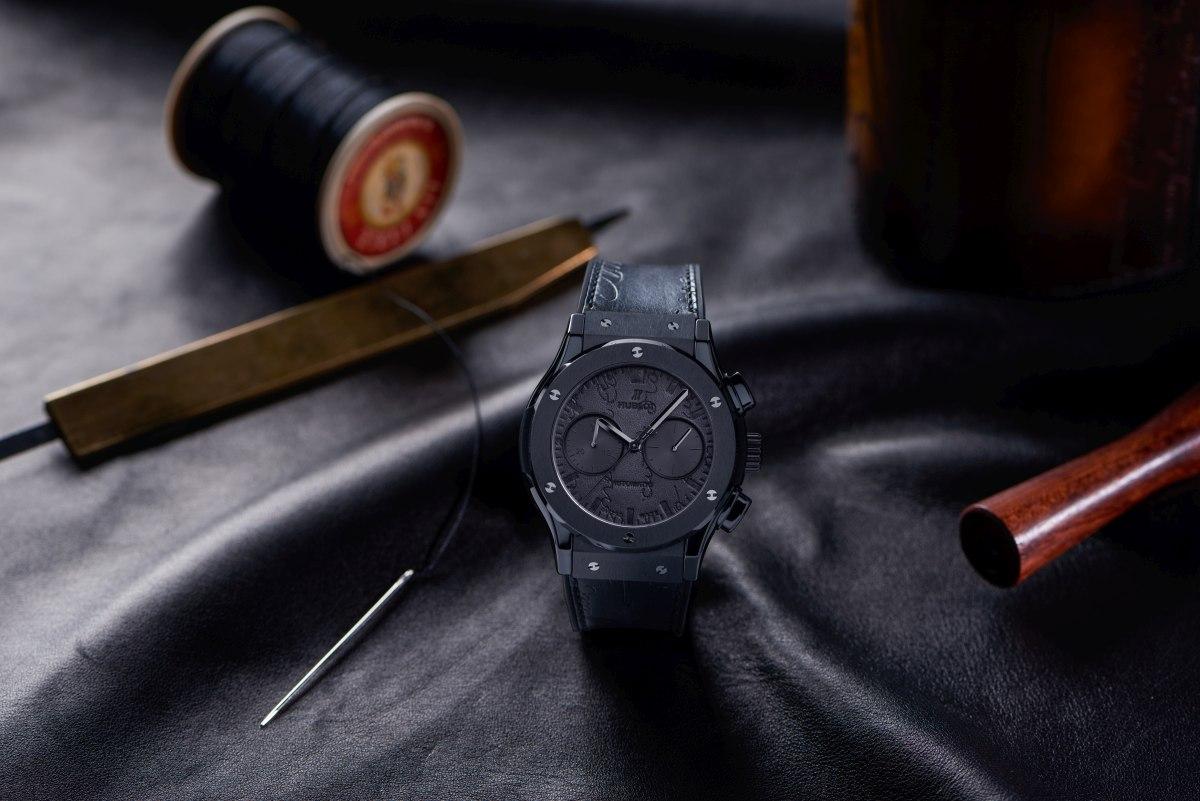 Classic Fusion Chronograph Berluti King Gold - All Black