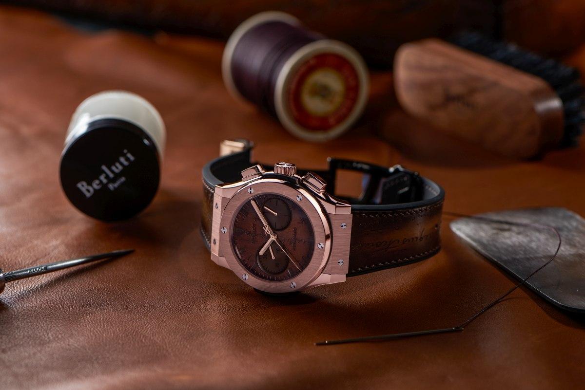 Classic Fusion Chronograph Berluti - King Gold