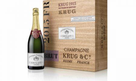 Coffret bouteille KRUG 1915