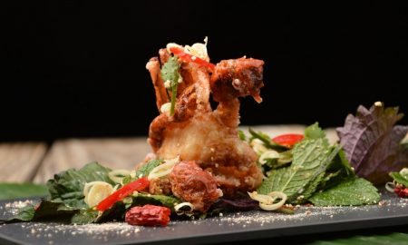 Crispy Soft Shell Crab namtok