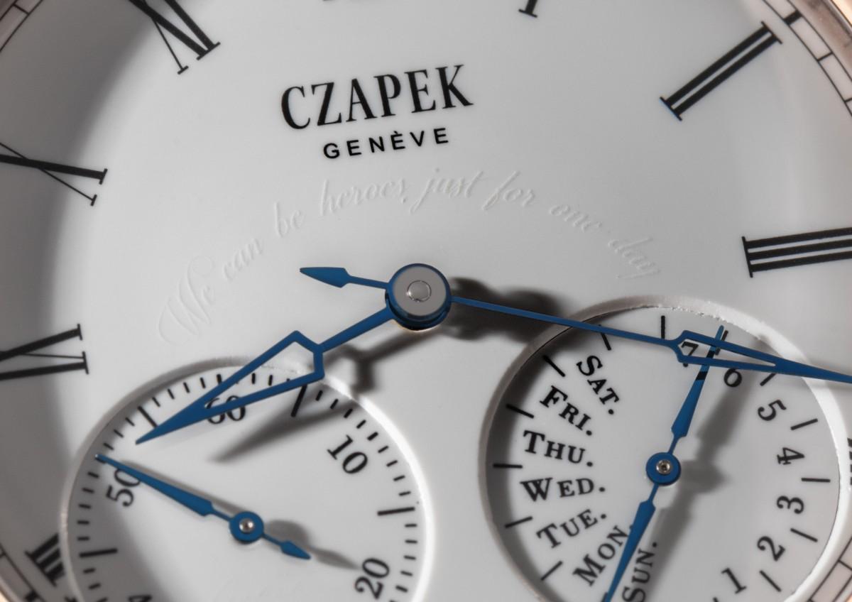 Czapek Enamel grand feu secret sentence close-up