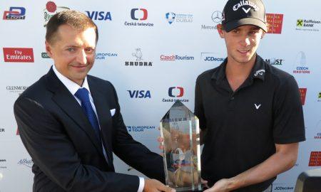 Czech Masters ovládl Belgičan Thomas Pieters