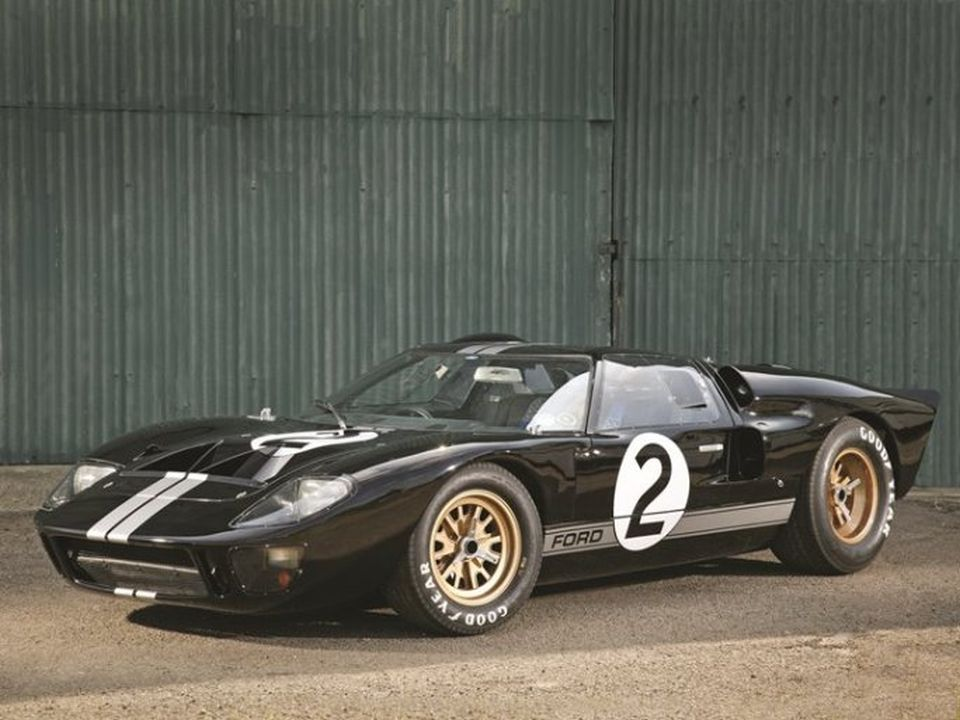 Ford GT40 Race Car