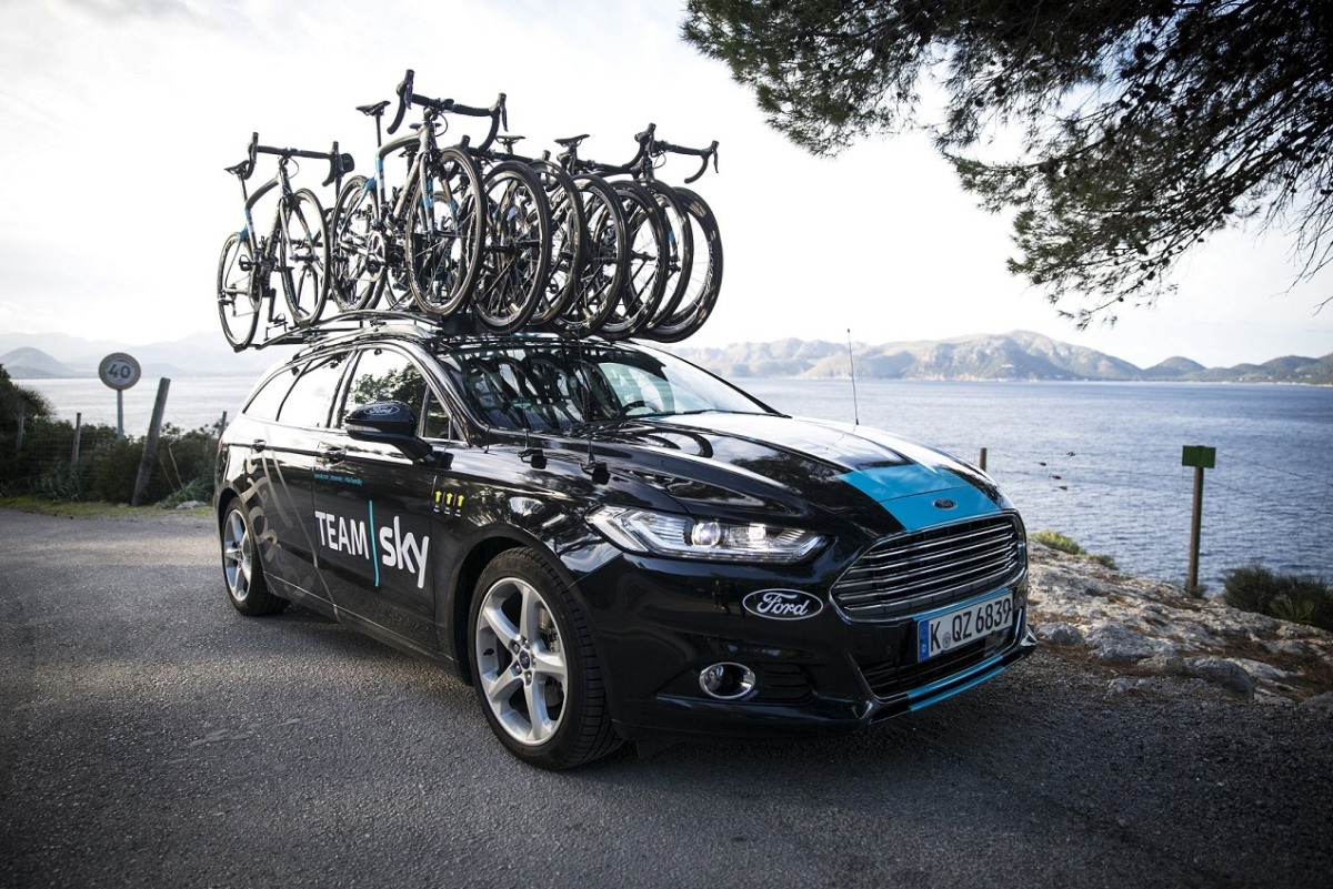 Ford Announces Partnership Deal with Team Sky to Become the Elit