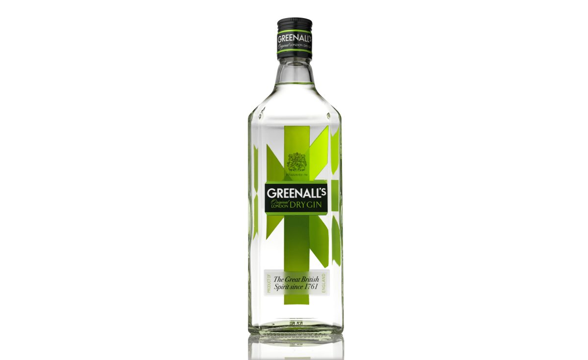 Greenall's 70cl on white