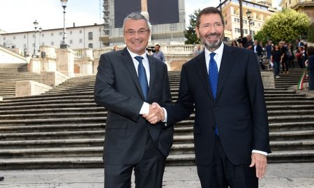 The Spanish Steps Restoration' Press Conference