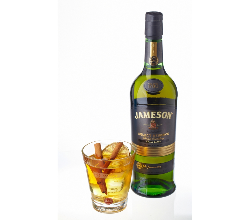 Tekut luxus jameson select cocktail for Mixed drink with jameson