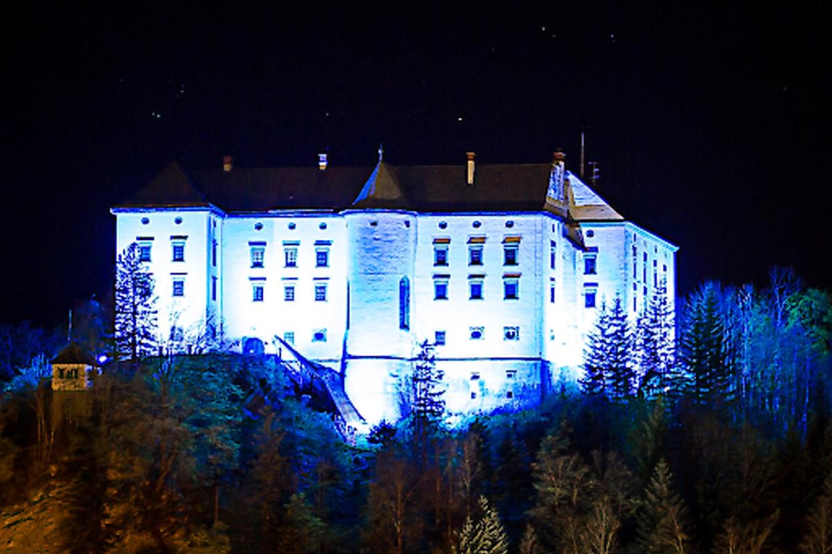 Schloss Murau in adelsblau