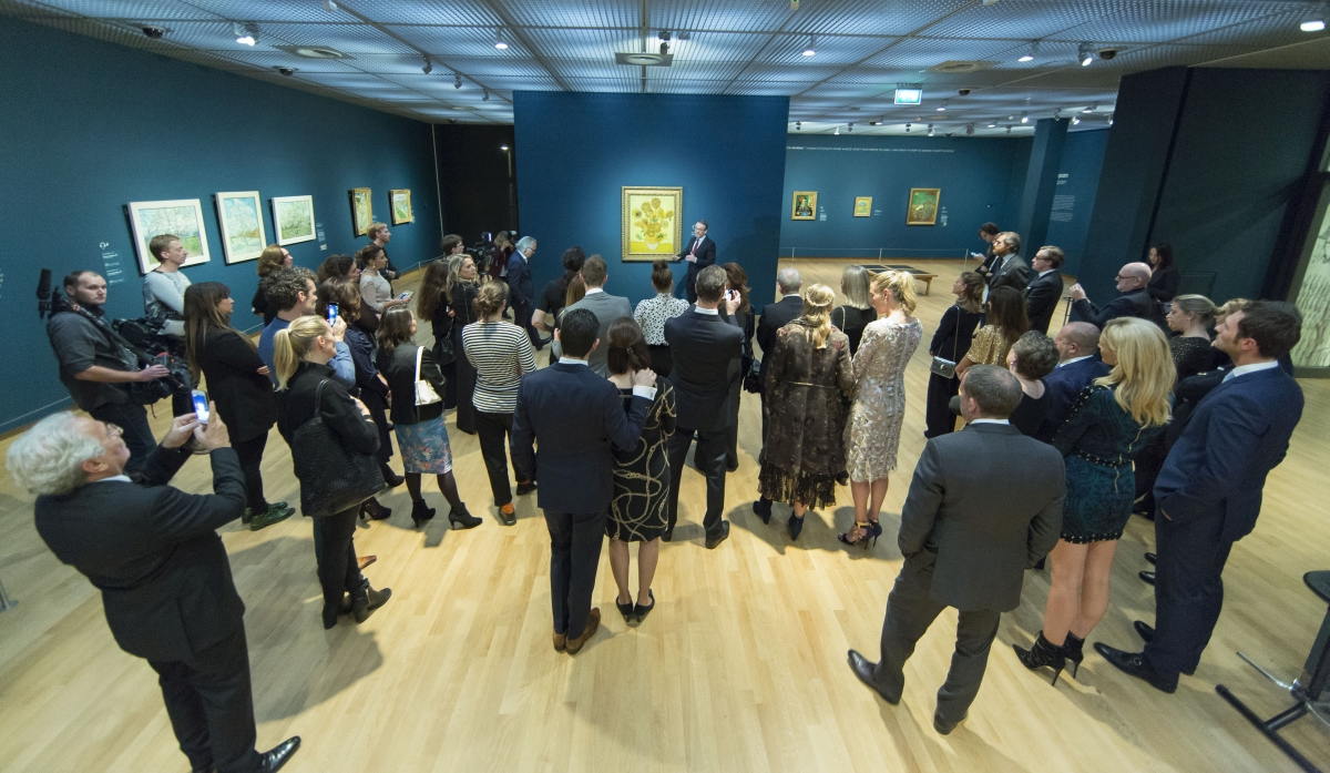 Van Gogh Museum Celebrates Van Gogh Paintings