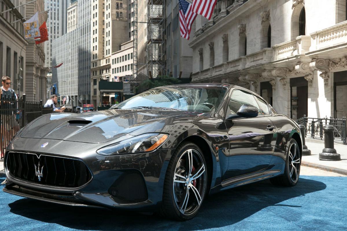 Maserati GranTurismo MC MY18 at New York Stock Exchange_2017_2