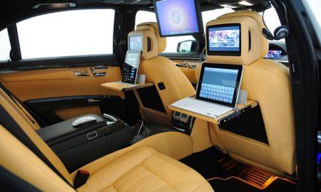 Ještě máte důvod, abyste platili vysoké nájemné za svou kancelář? Pracujte doslova v pohybu v novém zakázkovém Mercedesu-Benz od Brabusu..