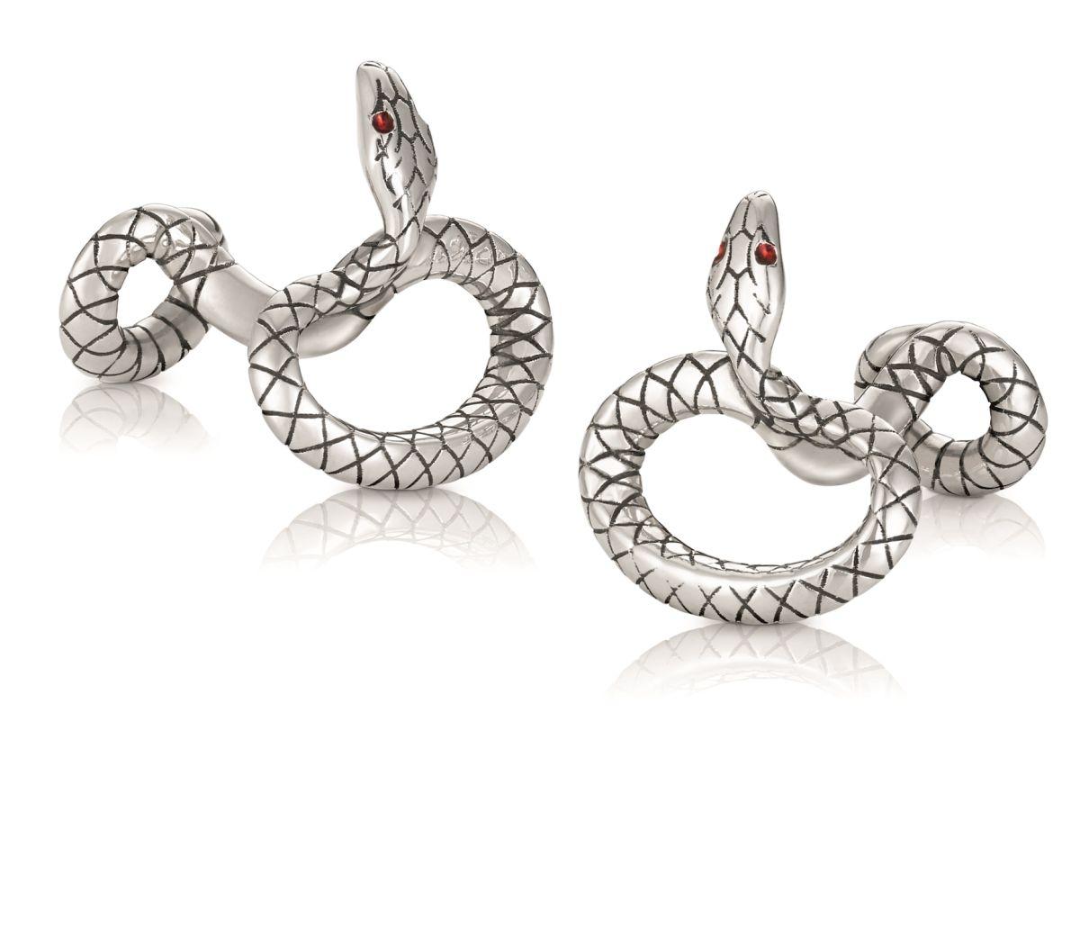 Montblanc_silver cufflinks_12300 Kc