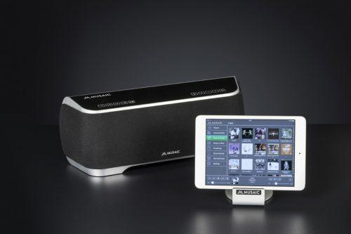 Musaic MP10 with iPad Mini b