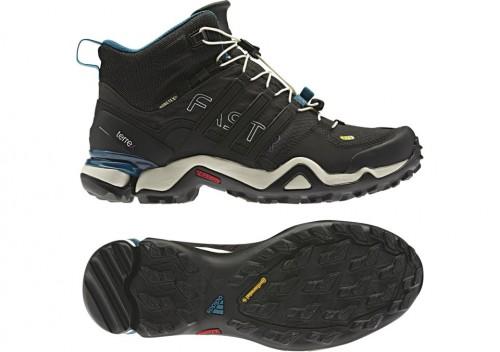 Outdoorové boty adidas Terrex s technologií Continental
