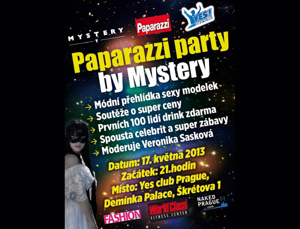 Paparazzi party a Mystery