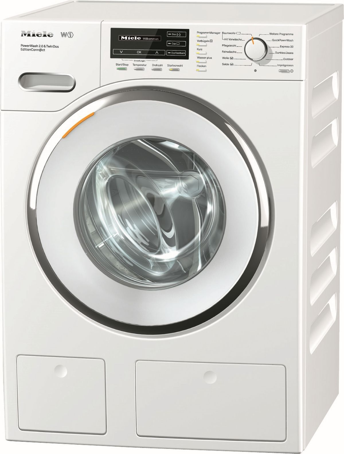 Pračka se síťovým připojením - Miele