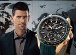 Chronograf Seiko Astron GPS Solar vyrobený na míru Novaku Djokovićovi