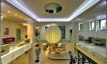 Lobby hotelu Royal Regent v Karlových Varech