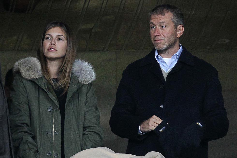 Roman Abramovič s přítelkyní Darjou v Londýně