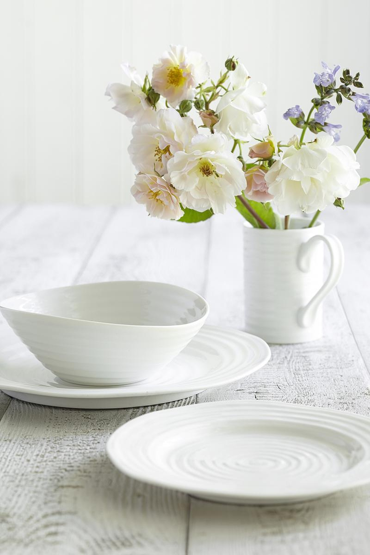 SOPHIE CONRAN BREAKFAST WITH FLOWERS PORTMEIRION